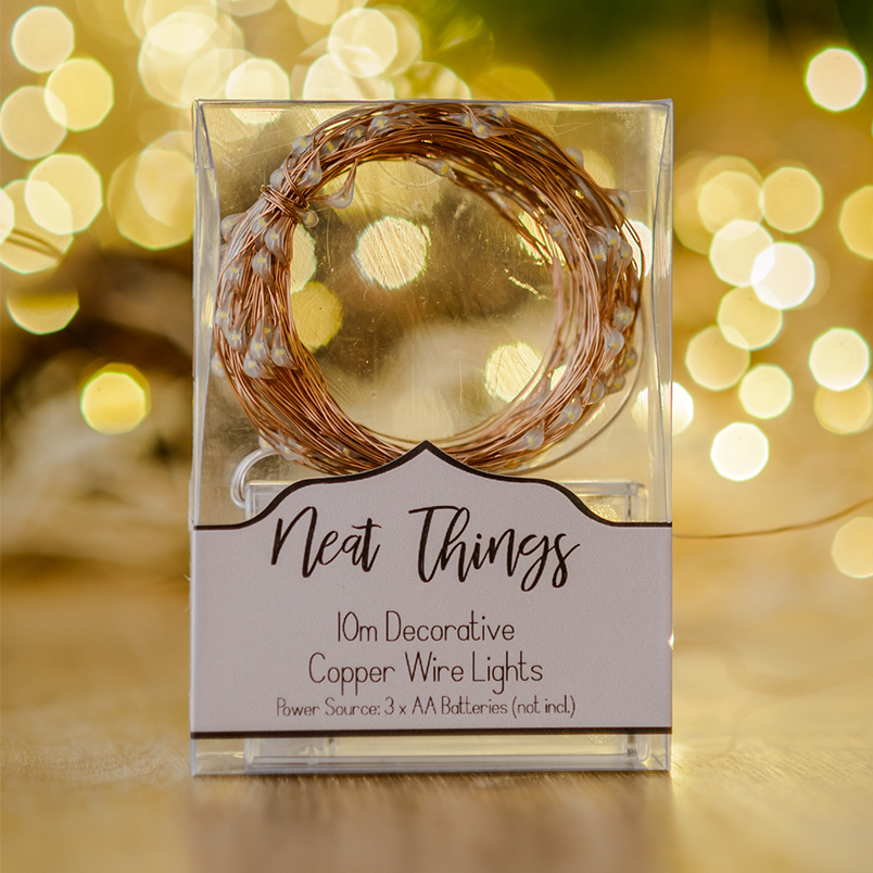 10m Copper wire light